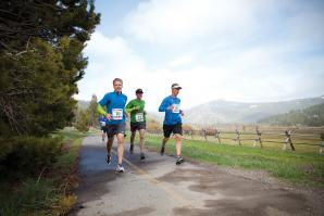 The North Face held its corporate retreat last month at the Resort at Squaw Creek.