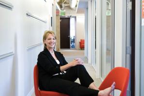 Christi Black, managing director, Ogilvy Public Relations found new digs at 1414 K St.