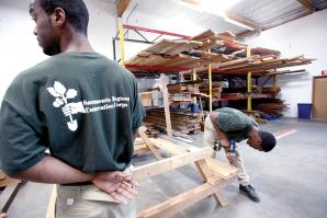 Thomas Nesbit, 21, has turned a corner academically and professionally through his involvement wit Sacramento Regional Conservation Corps.