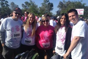 The Race for a Cure was a family affair, bringing out thousands of supporters.