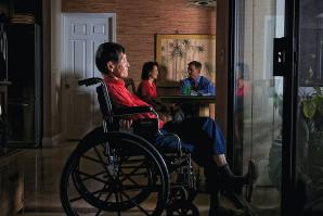 Jessie Lum, 96, has dementia and currently lives in an assisted-living facility at a cost of $3,500 a month. Lum's daughter Marian Bayham purchased Lum's long-term care insurance 15 years ago. It now covers 85 percent of her living costs.