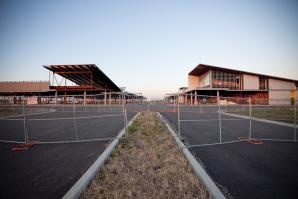 The Elk Grove Promenade began construction in 2007, and the fate of the unfinished project is still unknown.