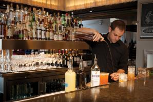Chris Dooley, bartender, Ella Dining Room & Bar