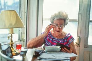Nearly one in five Americans over the age of 65 have been financially victimized. Such financial abuse costs older Americans more than $2.6 million annually.   (istockphoto)